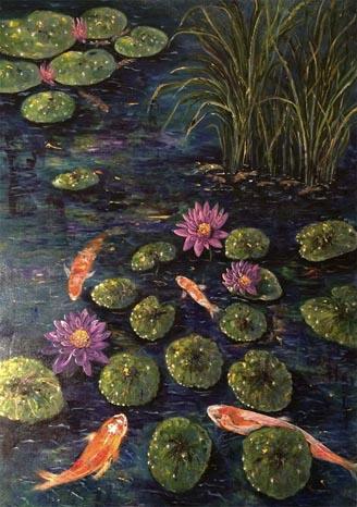 Pond and Carp